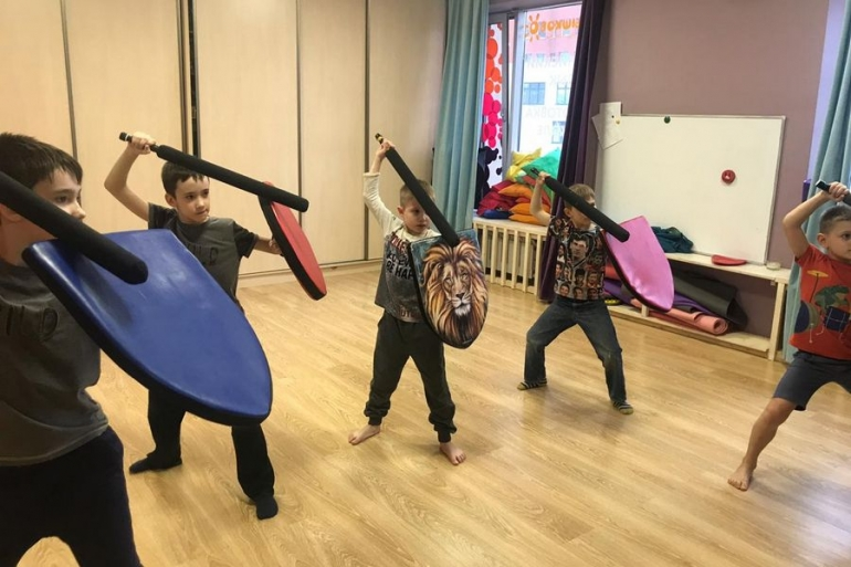 Бой на мечах Раменки